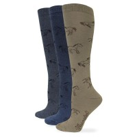 Ladies Horse Boot Sock